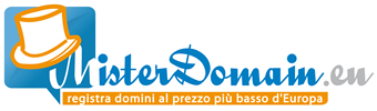 Misterdomain - Registrazione domini internet